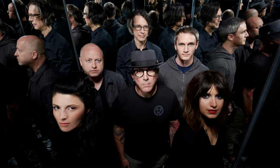 US rock band Puscifer fronted by Maynard James Keenan of Tool fame