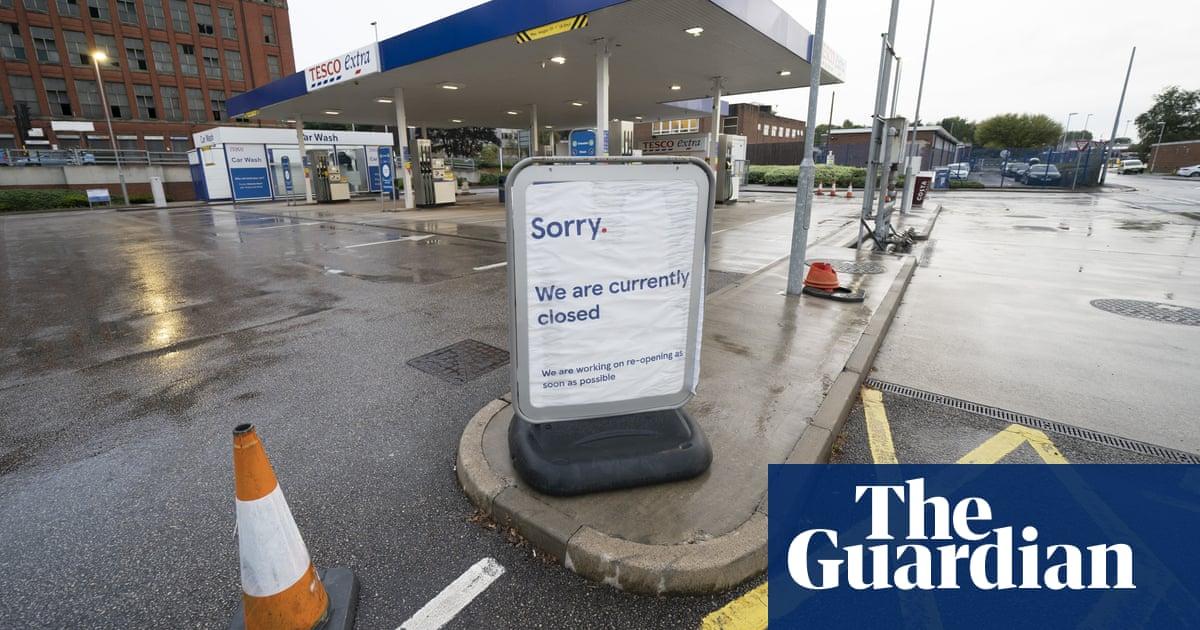 Petrol shortage: customers still panic-buying, says fuel retail boss