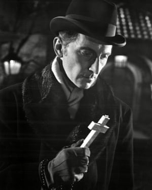 Peter Cushing as Van Helsing in Dracula, 1958