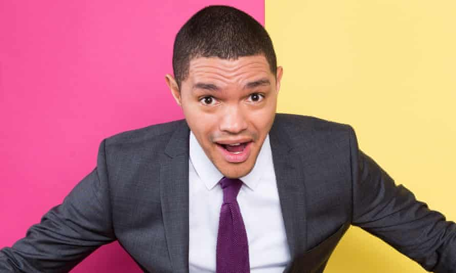 Trevor Noah photographed at The Daily Show offices.