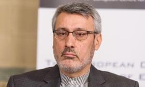 Iran's ambassador to the UK, Hamid Baeidinejad, has warned the British government to avoid 'politicising' the case of Nazanin Zaghari-Ratcliffe.