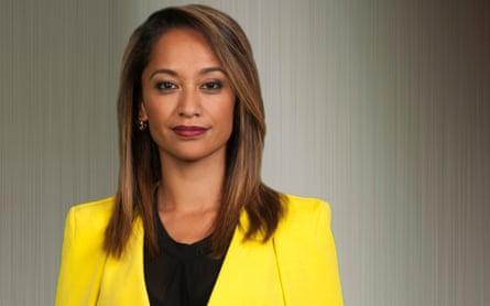 Māori Television newsreader Oriini Kaipara
