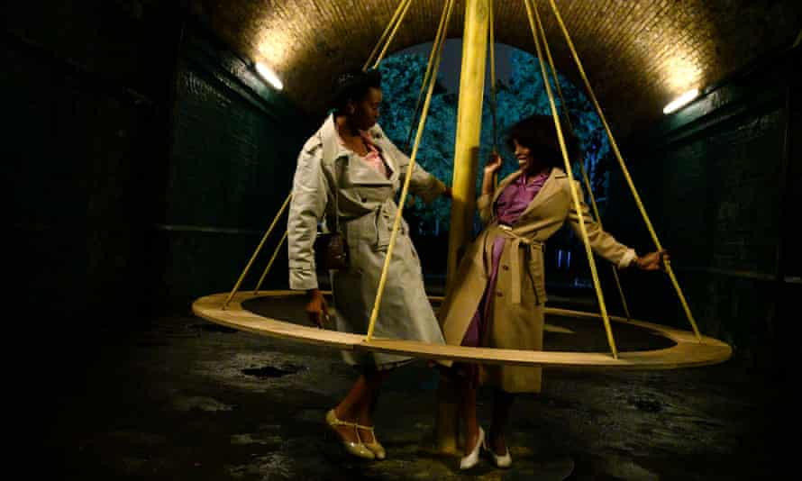 Shaniqua Okwok and Amarah-Jae St Aubyn in Lovers Rock, one of the films in Steve McQueen's Small Axe series