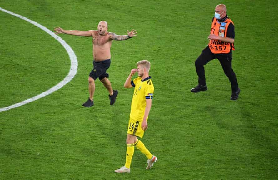 The scene after the winner of Ukraine.