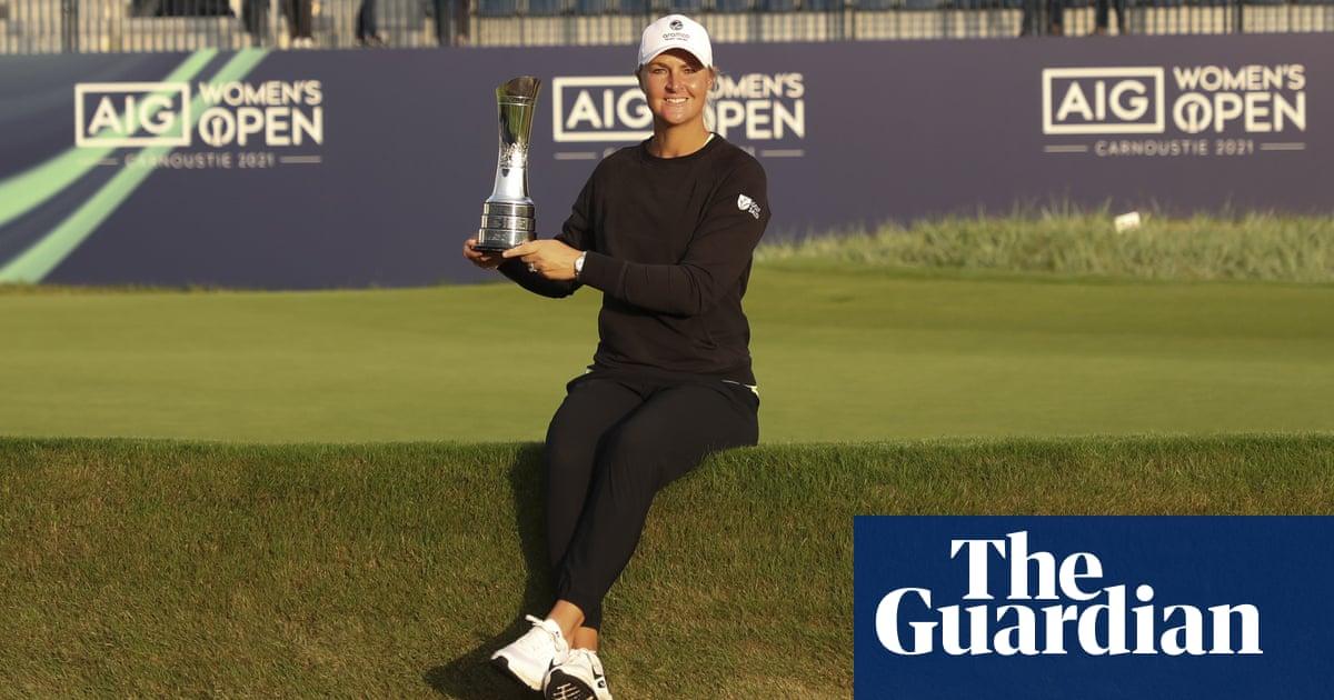 Anna Nordqvist wins Women's Open after Madsen makes mess of final hole