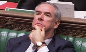 Geoffrey Cox in the House of Commons.
