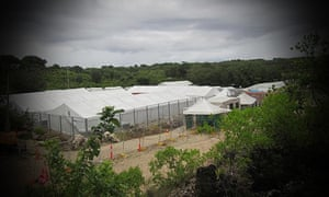 A detention centre in Nauru. International Health and Medical Services is contracted to supply medical care at the centre and others holding asylum seekers on the Australian mainland and offshore.