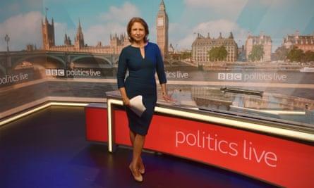 Jo Coburn in Politics Live studio