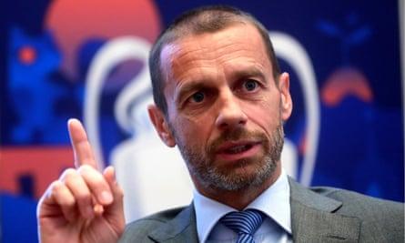 Uefa's president, Aleksander Ceferin, has commissioned work on improving competitive balance.