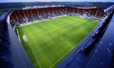 The Pancho stadium in Felcsút