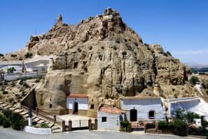 Barrio de las Cuevas, Guadix, Province of Granada, Andalusia, Spain
