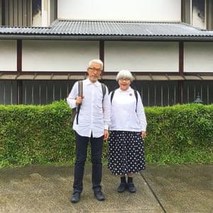 """Yesterday we went to Kawagoe on a day trip. It's a city that makes you feel like you've stepped back in time. We really enjoyed it! The style was a simple black-and-white match. Of course, you also need a comfortable backpack when travelling."""