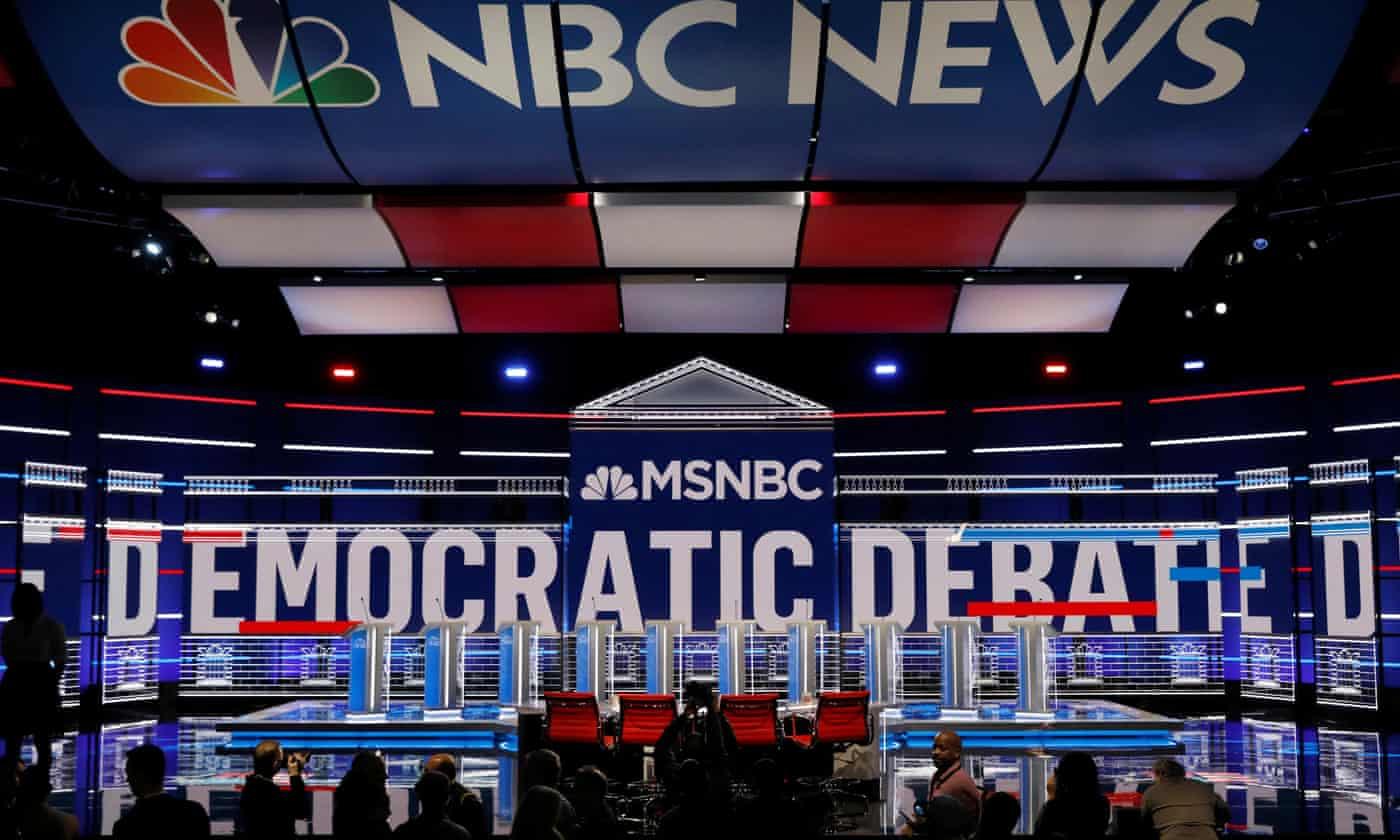 Democratic debate: Warren, Sanders, Biden and Buttigieg to go head to head in Atlanta – live