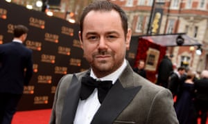 Danny Dyer arrives for the Olivier awards at the Royal Albert Hall.
