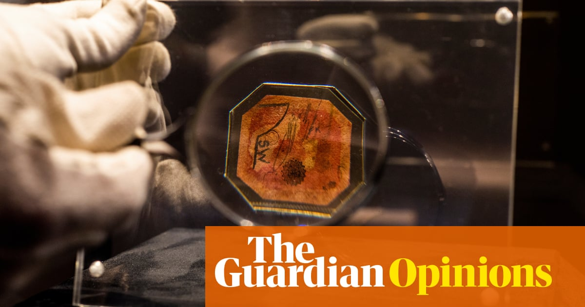 The Guardian view on the world's rarest stamp: obsession conquers all