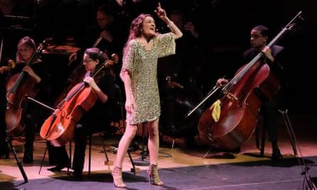 Cristina Zavalloni  in La Commedia. Photograph: Mark Allan/BBC