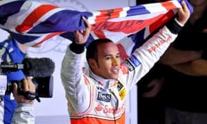 Hamilton in 2008.