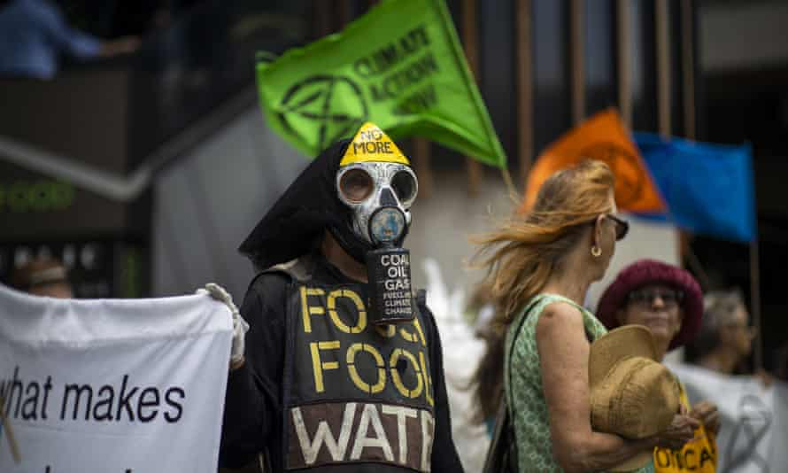 Extinction Rebellion climate protesters in Brisbane, where more than 20 activists were strip-searched in the Brisbane City police watch house recently.