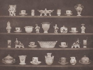 Articles of China, 1843, from William Henry Fox Talbot's book The Pencil of Nature.