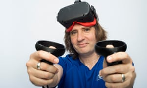 Stuart Dredge tries out virtual reality boxing kit.