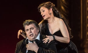 Wonderful pacing … Sophie Koch as Venus, with Peter Seiffert in the title role of Tannhäuser at the Royal Opera House, London.