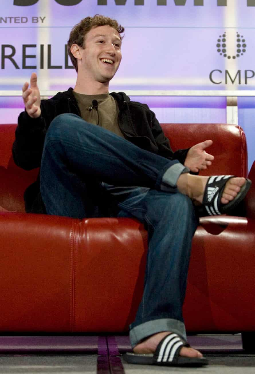 Facebook founder Mark Zuckerberg in 2007