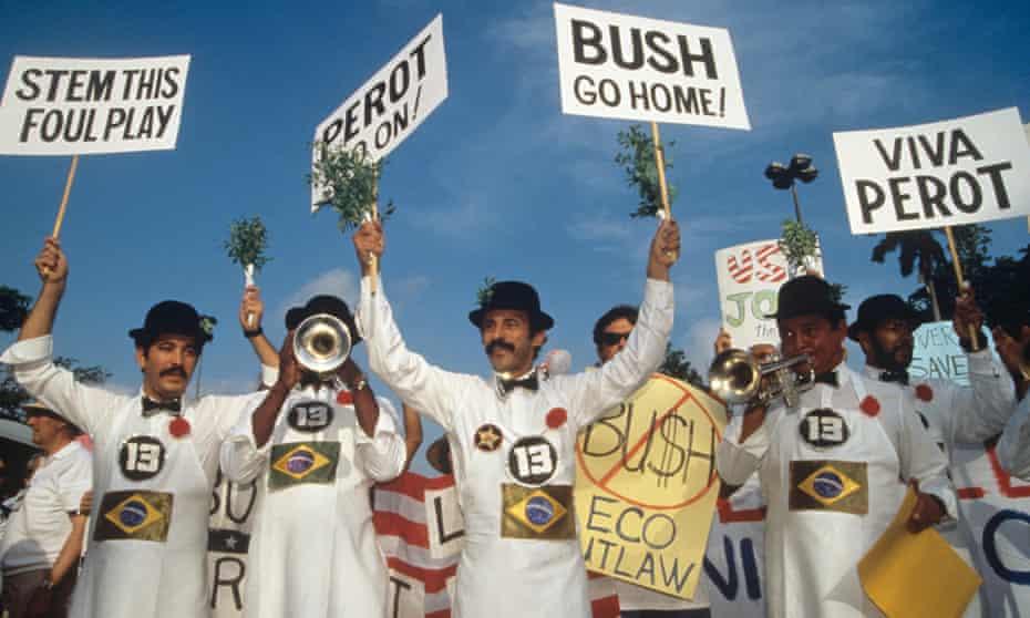 The Rio Earth summit in 1992.