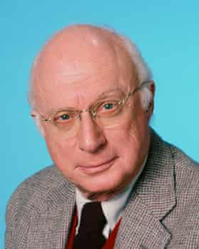 Norman Lloyd as the genial Dr Auschlander in the long-running 1980s TV show St Elsewhere.