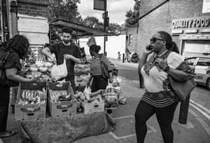 England, May 2017 Nazir sells fruits and vegetables in northern London