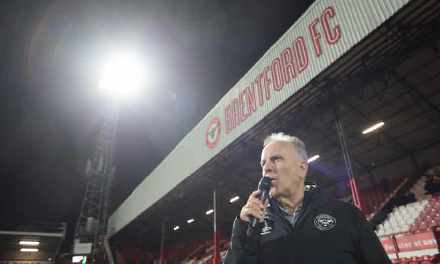 Peter Gilham, British football's longest serving match compere, has been a Brentford FC supporter since he was 10 years old.