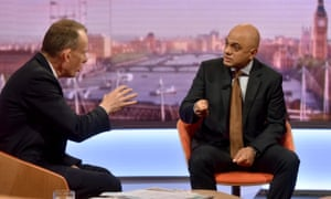 Sajid Javid on The Andrew Marr Show