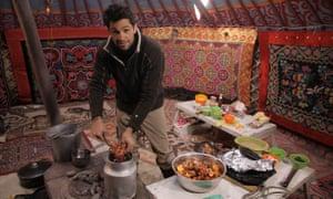Extreme Food … Kiran Jethwa in Mongolia