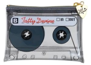 Tatty Devine mixtape coin purse