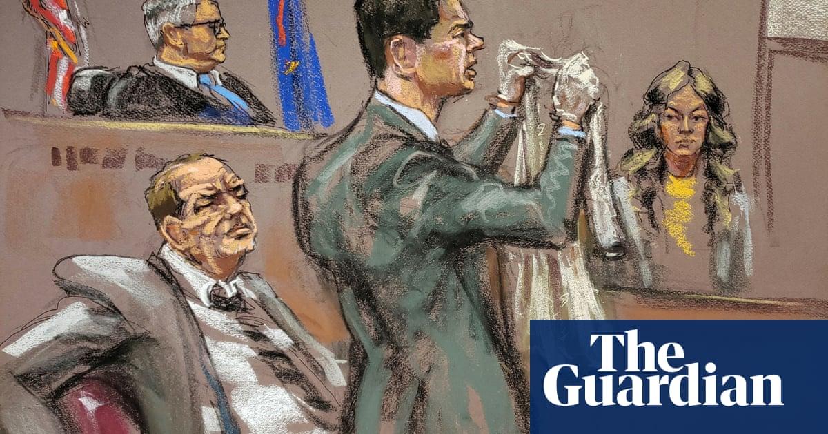 Harvey Weinstein trial: attorney shows dress witness wore during alleged attack