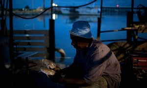 In Louisiana, seafood is a $2bn-a-year industry fraught with workplace abuses.