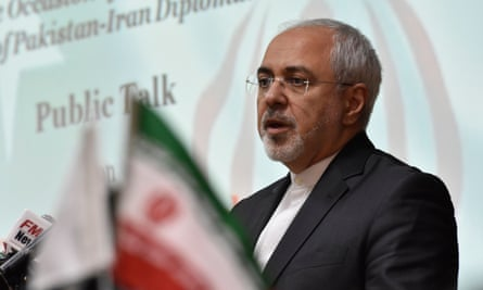 Iran's foreign minister Mohammad Javad Zarif said: 'Mr Trump has made habit of being unpredictable and thus unreliable for anybody to engage with.'