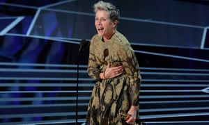 Frances McDormand has been reunited with her Oscar, her publicist said.