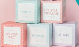 Boxed products from the upcoming pop-up Timeless