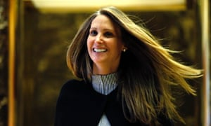 Stephanie Winston Wolkoff at Trump Tower in New York, New York, on 5 December 2016.