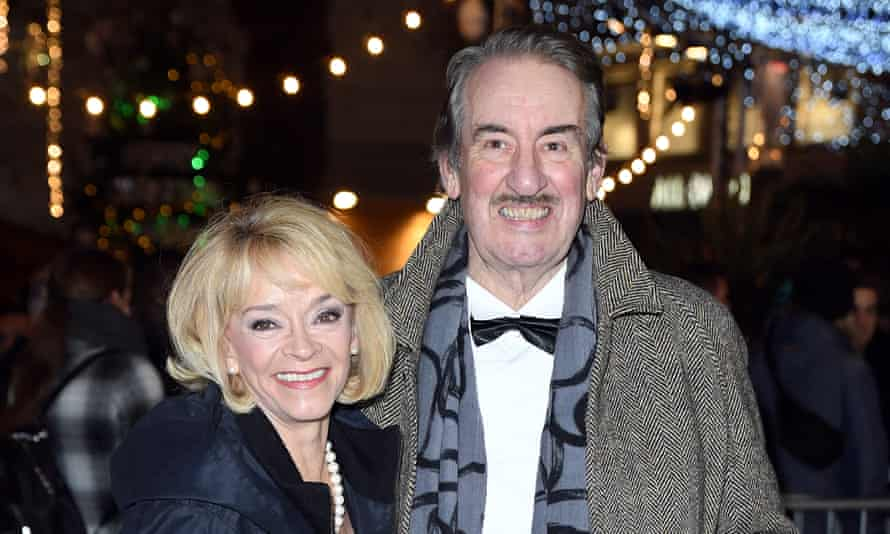 John Challis with Sue Holderness, who played his screen wife Marlene in Only Fools and Horses, in 2019.