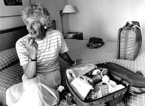 Jan Morris in 1988.