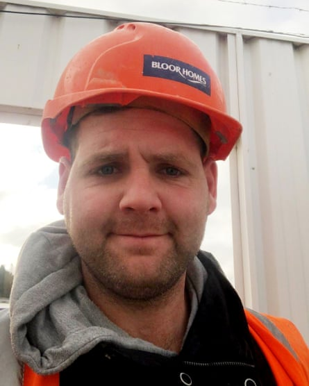 Billy Kee on building site