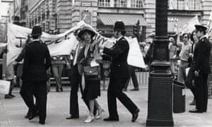 A GLF demonstration in London, 1972
