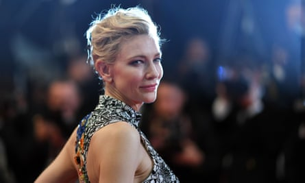 Cate Blanchette, president of the jury, arrives for the screening of the film Cold War at the 71st edition of the Cannes film festival in Cannes.
