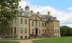 Belton House and gardens; Belton village; Lincolnshire;