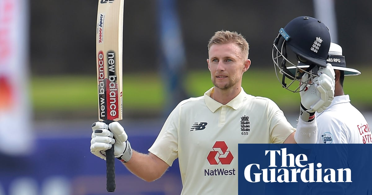 Joe Root hits century before the rain to tighten Englands grip on first Test