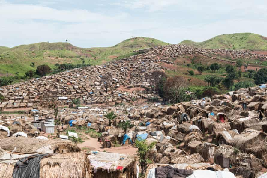 The Katanika displacement settlement, located just outside Kalemie town in Tanganyika, is home to about 9,500 families who have fled violence in the Democratic Republic of the Congo.