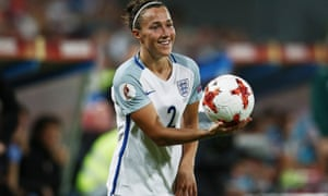 Lucy Bronze has benefited from a move to Lyon