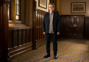 Tom Watson at his Westminster offices in London.
