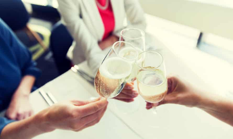 Sparkling moments: add some fizz to your day with some special tea.